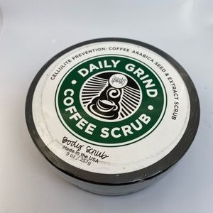 Perfectly Posh coffee body scrub